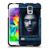 Official HBO Game of Thrones Faces Black Soft Gel Case for Samsung Galaxy S5 / S5 Neo