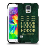 Official HBO Game of Thrones Hodor Black Soft Gel Case for Samsung Galaxy S5 / S5 Neo