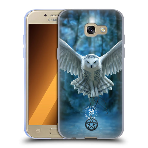 Official Anne Stokes Owls Soft Gel Case for Samsung Galaxy A3 (2017)