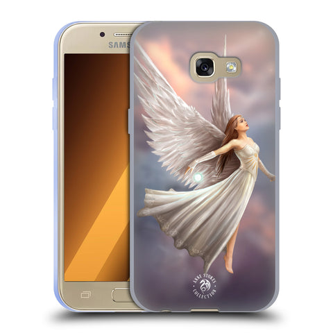 Official Anne Stokes Mermaid And Angels Soft Gel Case for Samsung Galaxy A3 (2017)