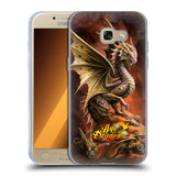 Official Anne Stokes Age Of Dragons Soft Gel Case for Samsung Galaxy A3 (2017)