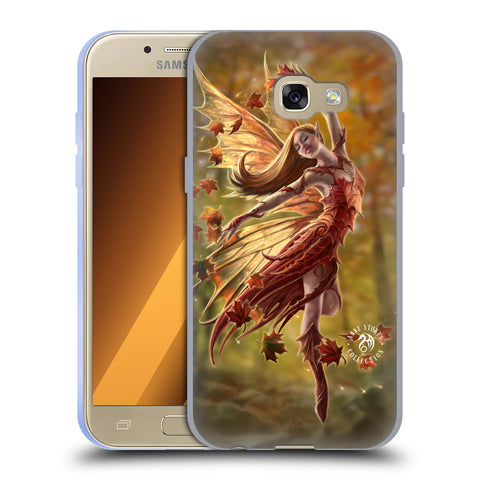 Official Anne Stokes Fairies Soft Gel Case for Samsung Galaxy A3 (2017)