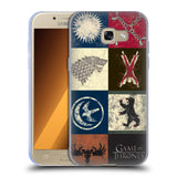 Official HBO Game of Thrones Battle Of The Bastards Soft Gel Case for Samsung Galaxy A3 (2017)