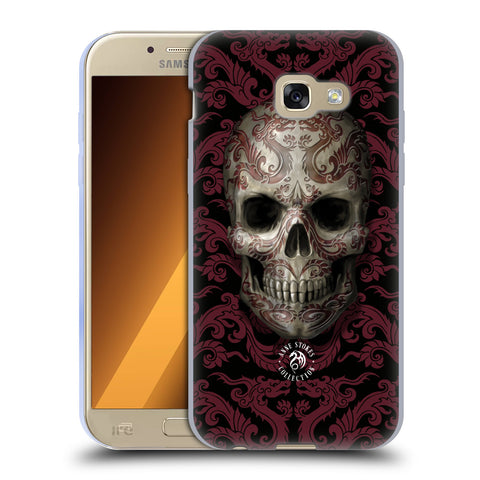 Official Anne Stokes Oriental Skull Soft Gel Case for Samsung Galaxy A5 (2017)