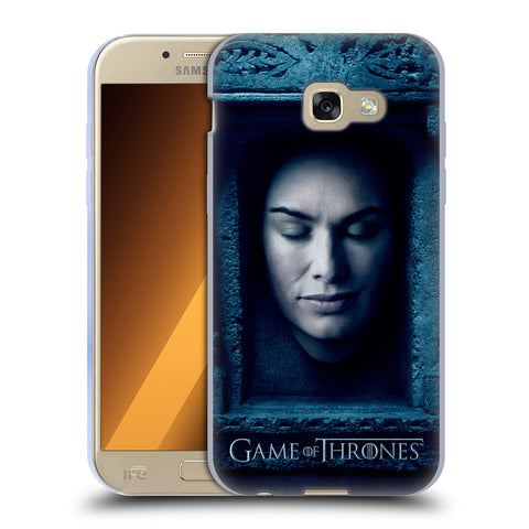 Official HBO Game of Thrones Faces Soft Gel Case for Samsung Galaxy A5 (2017)