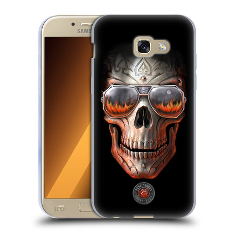 Official Anne Stokes Skull Soft Gel Case for Samsung Galaxy A5 (2017)