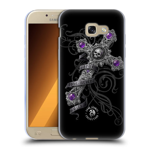 Official Anne Stokes Dark Hearts Soft Gel Case for Samsung Galaxy A5 (2017)