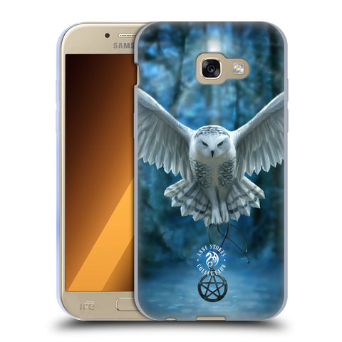 Official Anne Stokes Owls Soft Gel Case for Samsung Galaxy A5 (2017)