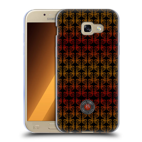 Official Anne Stokes Fire Tribal Soft Gel Case for Samsung Galaxy A5 (2017)