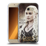 Official HBO Game of Thrones Character Quotes Soft Gel Case for Samsung Galaxy A5 (2017)