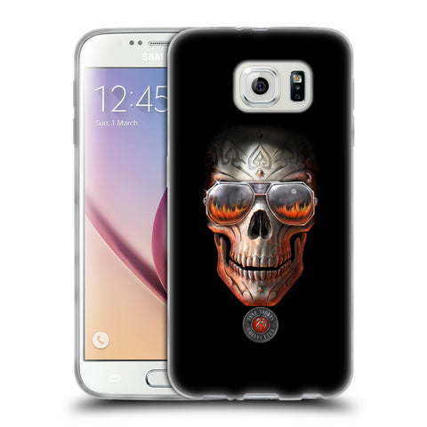 Official Anne Stokes Skull Soft Gel Case for Samsung Galaxy S6