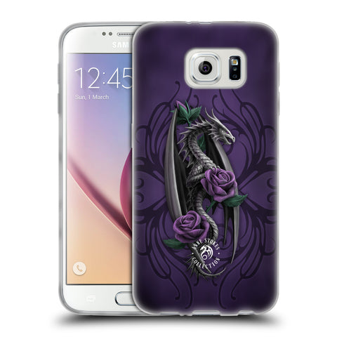 Official Anne Stokes Dragons 3 Soft Gel Case for Samsung Galaxy S6