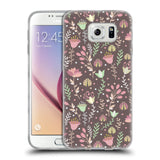 Official Julia Badeeva  Floral Patterns 2 Soft Gel Case for Samsung Galaxy S6