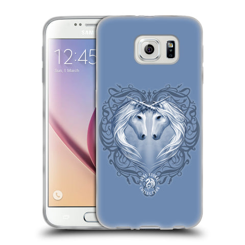 Official Anne Stokes Unicorns 2 Soft Gel Case for Samsung Galaxy S6