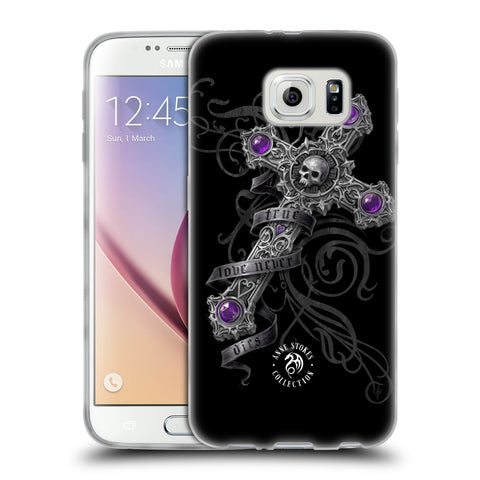 Official Anne Stokes Dark Hearts Soft Gel Case for Samsung Galaxy S6