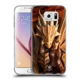 Official Anne Stokes Dragons 2 Soft Gel Case for Samsung Galaxy S6