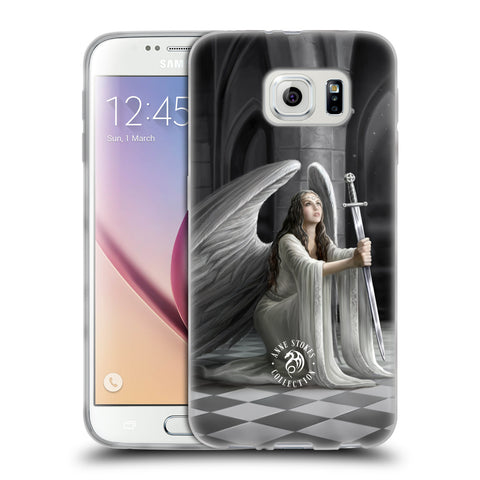 Official Anne Stokes Angels Soft Gel Case for Samsung Galaxy S6