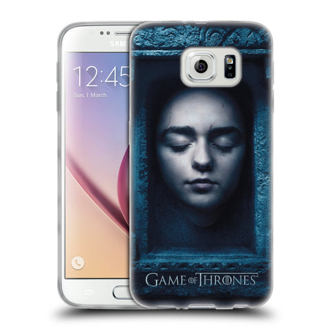 Official HBO Game of Thrones Faces 2 Soft Gel Case for Samsung Galaxy S6