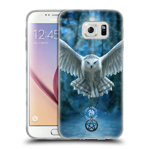 Official Anne Stokes Owls Soft Gel Case for Samsung Galaxy S6