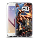 Official Anne Stokes Dragons Soft Gel Case for Samsung Galaxy S7