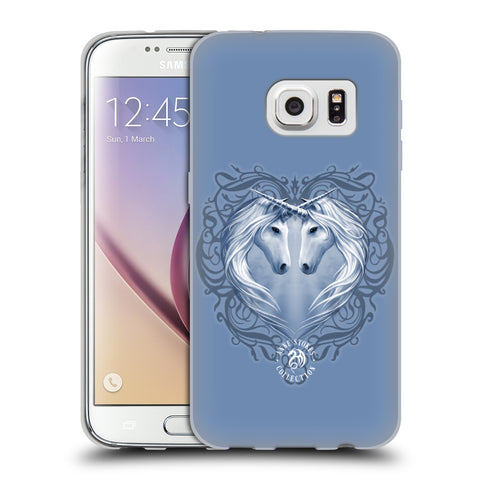Official Anne Stokes Unicorns 2 Soft Gel Case for Samsung Galaxy S7