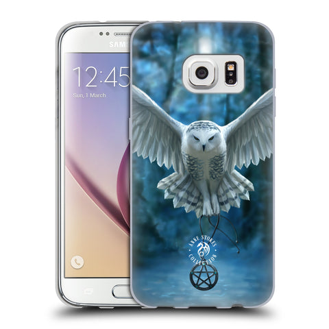 Official Anne Stokes Owls Soft Gel Case for Samsung Galaxy S7
