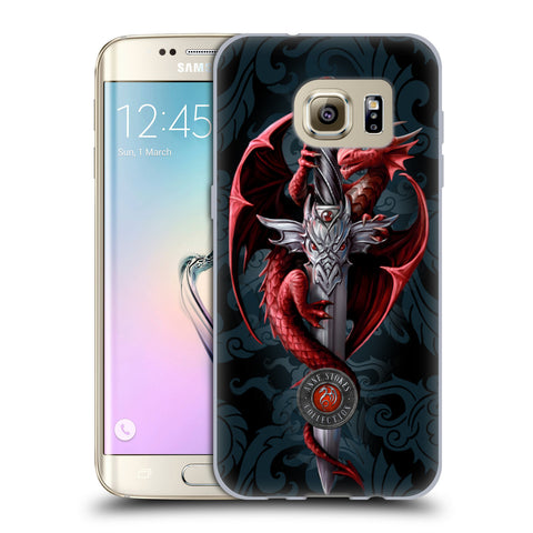 Official Anne Stokes Dragons Soft Gel Case for Samsung Galaxy S7 Edge