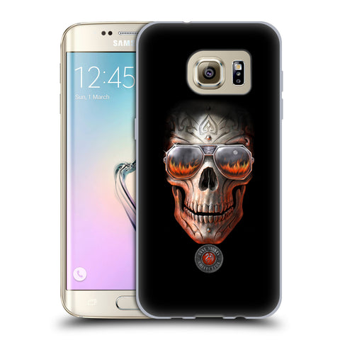 Official Anne Stokes Skull Soft Gel Case for Samsung Galaxy S7 Edge