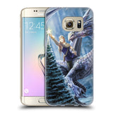 Official Anne Stokes Yule Soft Gel Case for Samsung Galaxy S7 Edge