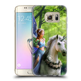 Official Anne Stokes Mythical Creatures Soft Gel Case for Samsung Galaxy S7 Edge
