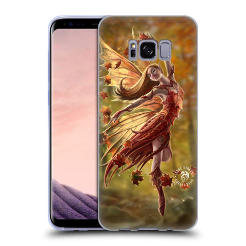 Official Anne Stokes Fairies Soft Gel Case for Samsung Galaxy S8