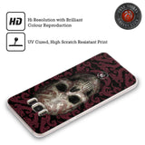 Official Anne Stokes Oriental Skull Soft Gel Case for Samsung Galaxy S6