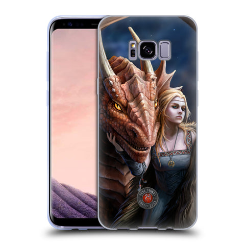 Official Anne Stokes Dragon Friendship 2 Soft Gel Case for Samsung Galaxy S8+ S8 Plus