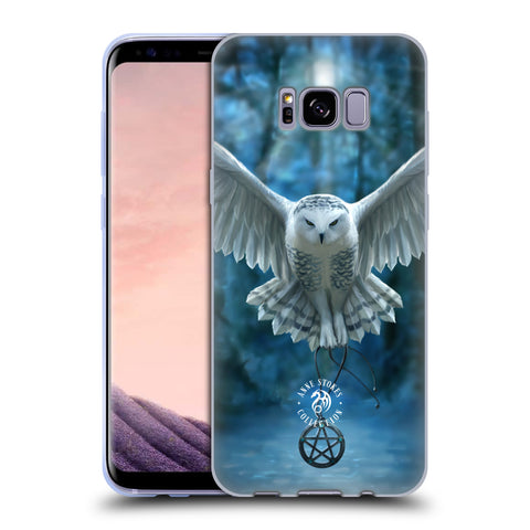 Official Anne Stokes Owls Soft Gel Case for Samsung Galaxy S8+ S8 Plus