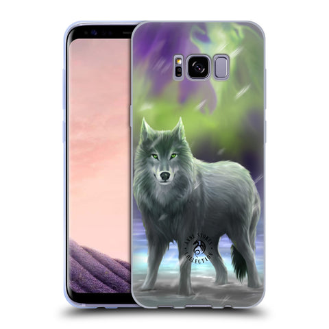 Official Anne Stokes Wolves Soft Gel Case for Samsung Galaxy S8+ S8 Plus