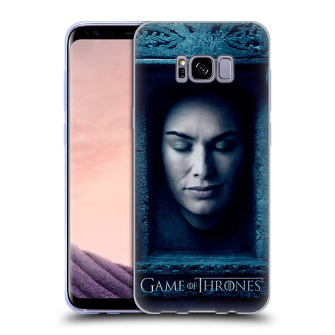 Official HBO Game of Thrones Faces Soft Gel Case for Samsung Galaxy S8+ S8 Plus