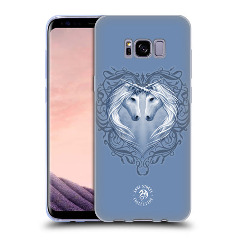 Official Anne Stokes Unicorns 2 Soft Gel Case for Samsung Galaxy S8+ S8 Plus