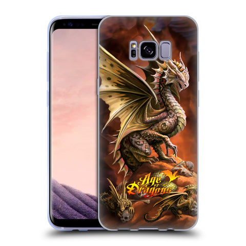 Official Anne Stokes Age Of Dragons Soft Gel Case for Samsung Galaxy S8+ S8 Plus