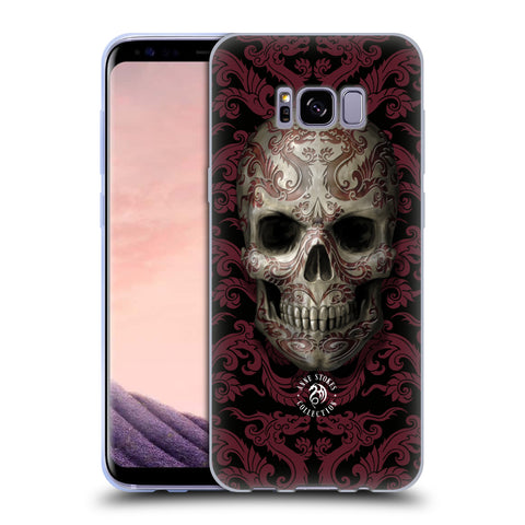 Official Anne Stokes Oriental Skull Soft Gel Case for Samsung Galaxy S8+ S8 Plus