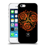 Official Anne Stokes Fire Tribal Soft Gel Case for Apple iPhone 5 5S SE