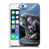 Official Anne Stokes Wolves Soft Gel Case for Apple iPhone 5 5S SE