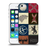 Official HBO Game of Thrones Battle Of The Bastards Soft Gel Case for Apple iPhone 5 5S SE