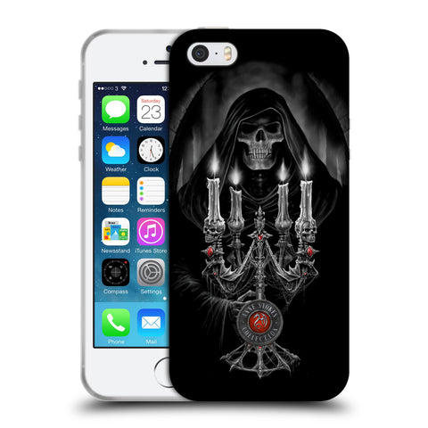 Official Anne Stokes Tribal Soft Gel Case for Apple iPhone 5 5S SE