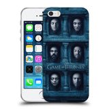 Official HBO Game of Thrones Faces 2 Soft Gel Case for Apple iPhone 5 5S SE