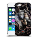 Official Anne Stokes Wolves 2 Soft Gel Case for Apple iPhone 5 5S SE