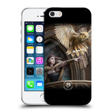 Official Anne Stokes Owls Soft Gel Case for Apple iPhone 5 5S SE