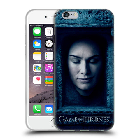 Official HBO Game of Thrones Faces Soft Gel Case for Apple iPhone 6 6S