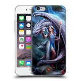 Official Anne Stokes Dragon Friendship 2 Soft Gel Case for Apple iPhone 6 6S