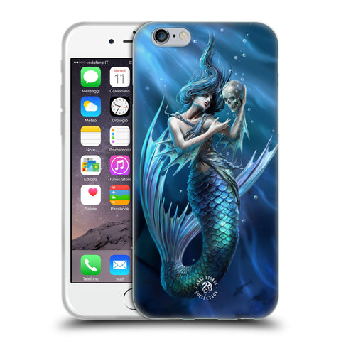 Official Anne Stokes Mermaids Soft Gel Case for Apple iPhone 6 6S