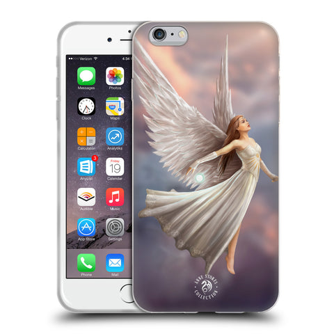 Official Anne Stokes Mermaid And Angels Soft Gel Case for Apple iPhone 6 Plus / 6S Plus